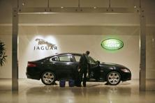 The Jaguar brand sold 10,868 units in August, up 104% from the year-ago month, reflecting the strong launch of the F-PACE as well as continued solid sales of the XE. Photo: Bloomberg
