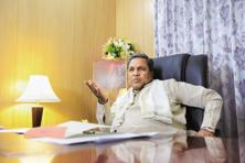 A cabinet reshuffle in June in which Karnataka CM Siddaramaiah (above) sacked 14 ministers saw a backlash with many party members attacking the chief minister and calling for his ouster.