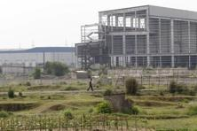 A file photo of the closed Tata Motors Ltd car factory in Singur. Photo: Reuters