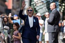 Hillary Clinton promised to release more information about her medical history in the coming days, adding that the health reports she's already made public far exceed what Republican Donald Trump has produced. Photo: AFP