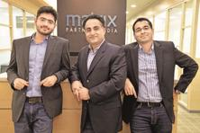 (From left) Matrix Partners India managing director Tarun Davda, founder and managing director Avnish Bajaj, and  managing director Vikram Vaidyanathan.