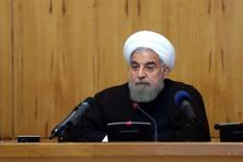 A file photo of Iran's President Hassan Rouhani. Photo: AP