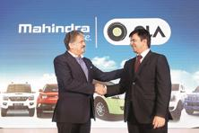 Mahindra and Mahindra announced last a wide-ranging strategic partnership with cab-hailing company Ola spanning fleet expansion. Photo: Bloomberg