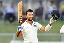 Cheteshwar Pujara scored a double century in the Duleep Trophy final last week. Photo: Virendra Singh Gosain/Hindustan Times