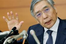 Bank of Japan governor Haruhiko Kuroda. Japan's central bank on Wednesday unveiled a surprise overhaul of monetary policy, promising to redouble attempts to fuel inflation and kickstart the torpid economy. Photo: AFP