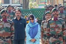 A file photo of Jammu and Kashmir chief minister Mehbooba Mufti. Photo: PTI