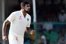 On the fourth day of the test, Ashwin added another record to his name as he became the second faster bowler to reach the 200 test wickets milestone. Photo: PTI