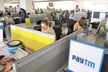 A file photo of a Paytm office. Photo: Bloomberg