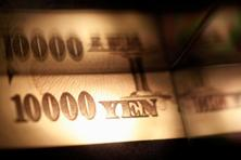 The yen fell against most of its major peers after Opec's deal to cut oil production sparked a surge in stocks that hurt demand for assets viewed as havens. Photo: Reuters