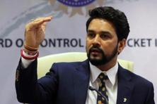 A file photo of BCCI president Anurag Thakur. Photo: Reuters
