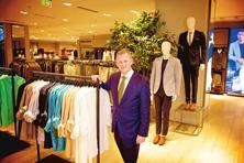 Steve Rowe, the new CEO of  Marks and Spencer, says his firm will keep developing formats both in stores and online, and use technology to join the two propositions together. Photo:  Priyanka Parashar/Mint