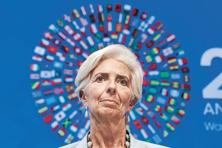 IMF's Christine Lagarde. IMF has warned that rising political tensions over open markets and free trade could undermine a recovery already lacking a growth engine. Photo: Reuters