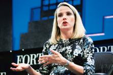 Marissa Mayer, president and CEO of Yahoo. Photo: Reuters