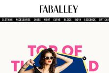 Founded in 2012, FabAlley is an online fashion brand selling over 3,000 products across categories such as apparel, footwear, accessories for women.