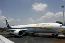 Jet Airways began offering in September one-way wireless streaming technology that enables passengers to play a selection of video and audio content directly on their mobile phones and other personal devices. Photo: AFP