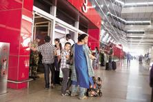 Some airports that have recently been modernized, including the Delhi airport, are lining up for further expansion. Photo: Ramesh Pathania/Mint