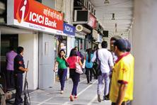 Shares of ICICI Bank jumped over 5.7%, the maximum rise in six months. Photo: Pradeep Gaur/Mint