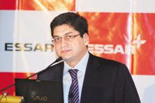 Essar Group director Prashant Ruia. Brokerages estimate that the conglomerate has bad loans to the tune of Rs1.3 trillion. Photo: Mint