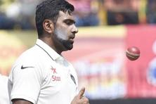 R. Ashwin is outshining every Indian cricketer. Photo: Anshuman Poyrekar/Hindustan Times