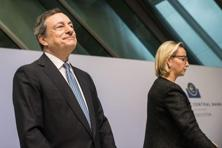 ECB president Mario Draghi gave few hints as to what measures the Bank could take later this year to ensure the asset-buying continued smoothly. Photo: AFP