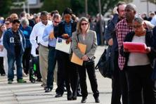 Economists had forecast first-time applications for jobless benefits rising to 250,000 in the latest week. Photo: Reuters