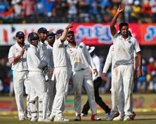 India has used DRS in only two test series, in 2008 against Sri Lanka, where the system was first introduced to world cricket, and in 2011 in England. Photo: Reuters
