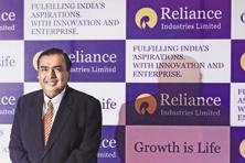 Mukesh Ambani's Reliance Industries announced operating profit before exceptional items of Rs10,795 crore, a 36% jump from the year-earlier quarter. Photo: Reuters