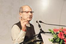 Environment minister Anil Dave urged global and domestic companies to invest in environment. Photo: HT