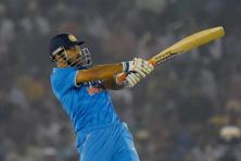M.S. Dhoni achieved the feat during the third ODI against New Zealand in Mohali on Sunday. Photo: PTI
