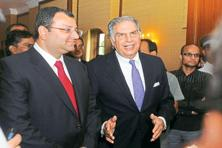 The file photo of Cyrus Mistry (left) and Ratan Tata. Photo: Indranil Bhoumik/Mint