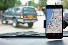 The Global Positioning System is a good outdoor location technology, but it is unreliable indoors. Photo: Reuters