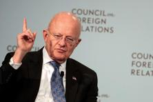 A file photo of US National Intelligence director James Clapper . Photo: AFP
