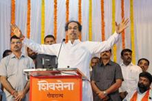 Uddhav Thackeray described the BJP as a 'power-drunk party which becomes dismissive of its allies soon after it comes to power'. Photo: PTI