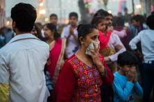 In 2012, 127,000 children aged under five were estimated to have been killed by outdoor air pollution. Photo: AFP