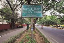 Once you have crossed Amrita Shergill Marg, made your way past Kasturba Gandhi Marg and stopped at Mother Teresa Crescent Road, you'll have to look pretty hard to find another named after a woman. Photo: Pradeep Gaur/Mint