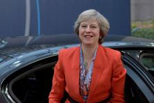 This is Theresa May's first bilateral visit outside the European Union since assuming office in the wake of the 23 June Brexit vote in favour of Britain leaving the EU.  Photo: Reuters