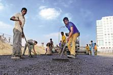 Road construction is key to creating jobs crucial for the Modi government ahead of key assembly polls next year and a general election due to be held by 2019. Photo: Indranil Bhoumik/Mint