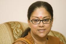 A file photo of Rajasthan chief minister Vasundhara Raje. Photo: Ramesh Pathania/Mint