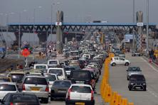 Instructions have been issued to all concessionaires and fee collection agencies, about the extension of toll suspension date. Photo: Kunal Patil/Hindustan Times