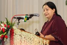 "The 68- year-old Jayalalithaa was admitted on 22 September at the Apollo hospital in Chennai with complaints of ""fever and dehydration"". Later she was given treatment for lung congestion and continued to stay on respiratory support. Photo:  Hindustan Times"