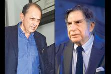 Nusli Wadia (left) and Ratan Tata. Photo: PTI, Abihijit Bhatlekar/Mint