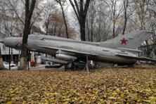 A file photo of a MiG 21 fighter jet.  Vano Mikoyan was given two Soviet state awards for developing the iconic jet fighters. Photo: AP