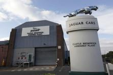 Jaguar Land Rover is already building the new Discovery at its plant in Solihull in central England. Photo: Reuters