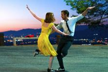 Emma Stone (left) and Ryan Gosling in a still from 'La La Land'.