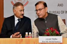 CBI director Anil Sinha (left) retired from his post after completing a two-year tenure.  Photo: PTI