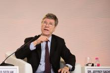 Jeffrey Sachs, university professor, Columbia University also expressed concern at India's intention to double coal production in next few years. Photo: Ramesh Pathania/Mint