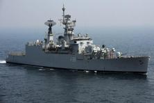 INS Betwa is a guided missile frigate weighing 3,850 tonnes with a length of 126 metres. Photo: AFP