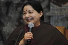 A file photo of late Tamil Nadu chief minister Jayalalithaa. Photo: AP