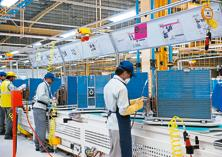 Panasonic India's Jhajjar factory will have capacity for 500,000 units and be operational by November 2017. Photo: Mint
