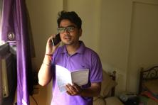 Rajdeep Ganguly, 24, has carefully planned his expenses from the first few salaries. Photo: Abhijit Bhatlekar/Mint